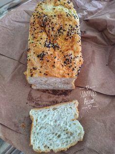 Pão sem glúten infalível Bread Recipes, Banana Bread, Gluten Free, Healthy Recipes, Lactose, Desserts, Diabetes, Foods, Fitness