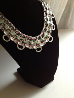 Pop Tab Statement Necklace by ALuminous on Etsy