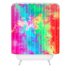 Caleb Troy Painted Clouds Vapors II Shower Curtain | DENY Designs Home Accessories