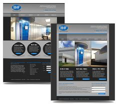H&F Manufacturing Site - KA Graphic Designs: Interactive Media & Web Development R Panel, Pvc Panels, Media Web, Interactive Media, Web Design Projects, Web Development, Graphic Design, Marketing, Visual Communication