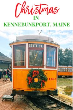 Christmas Prelude in Kennebunkport Maine is the number 2 christmas town in the United States. Family fun. #christmasprelude #mainetravel #travelnewengland