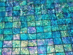 * Lightstreams Glass Tile   Renaissance Collection Teal Glass Tile