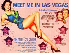 Meet Me In Las Vegas Movie Poster.