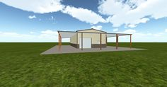 3D #architecture via @themuellerinc http://ift.tt/2mw8pyu #barn #workshop #greenhouse #garage #DIY