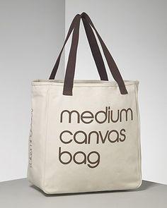 Bloomingdale's Medium Recycled Cotton Canvas Tote Bag | Bloomingdale's