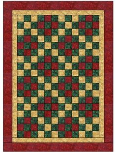 Nine Patch - 3 Yard Quilt Pattern