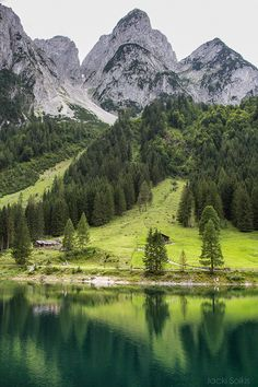 Beautiful serene countryside in Austria. #austria #countryside #clearlakes #visitaustria
