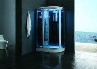 Cabine de hidromassagem, cabine de banho turco AG-M12080AL VERSÃO BRANCA   1200*800*2210mm