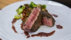 Whip up Curtis Stone's filet mignon with red wine sauce in just 30 minutes
