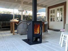 De houtkachel voor onder elke overkapping. Gezellig Warm & Sfeervol!