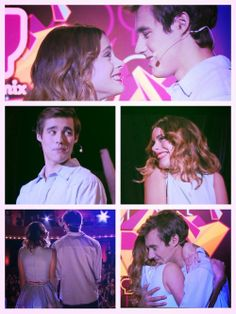 Leonetta, showing that when you love someone, you will do anything to see them smile