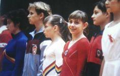 Ecaterina Szabo, Hana Ricna, Daniela Silivas, Oksana Omelianchik, Elena Shushunova