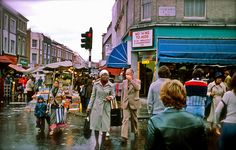 Portobello Road, London. Oct.1977