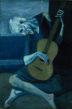 Always liked this piece from Picasso. I remember my elementary music teacher. Mr. Patterson, had a poster of this on his wall. I associate it with him playing Beethoven's Moonlight Sanata as we entered the room. A warm memory for me.