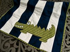 See You Later Alligator Baby / Toddler Quilt