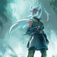 Female Monk - Pathfinder RPG PFRPG DND D&D d20 fantasy