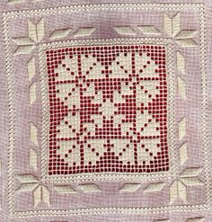 Ricamo, embroidery, broderie, bordado,.....: Tutorial: sfilato siciliano