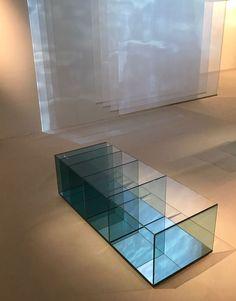 GLAS ITALIA at Maison&Objet Paris January 20/24, 2017 SILENCE exhibition | DEEP SEA coffee table design Nendo | #glasitalia #mo17 #nendo www.glasitalia.com