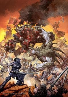 Vomkrieg: Warmachine vs Hordes - A NOOBs guide to Warmachine..... and Hordes.