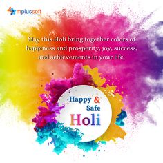 Mplussoft Technologies Team Wishes you all a Happy Holi! #holi #happyholi #holi2021 #holifestival #festival #happiness #festivalofcolors #Mplussofttechnologies Happy Holi, Wish, Bring It On, Happiness, Technology, Tech, Bonheur, Tecnologia, Being Happy