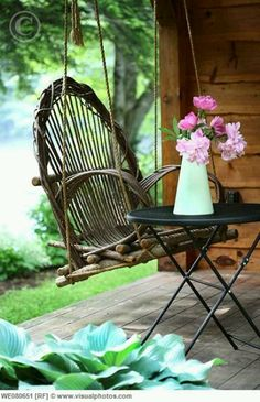 Amazing swing chair