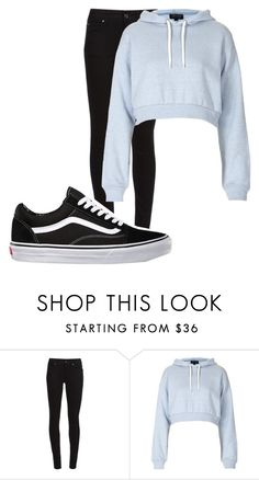 """""""Untitled #10267"""" by xxxlovexx ❤ liked on Polyvore featuring Burberry, Topshop and Vans"""