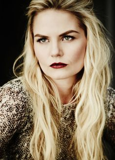 "Jennifer Morrison as Emma Swan from the TV Show ""Once Upon A Time""."