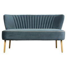 Farrah Velvet 2 Seater Sofa