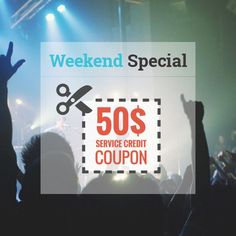 #Weekend #Special! Get a $50 Service Credit #Coupon and feel free to choose one of our uniquely designed #resumes!  http://rockstarcv.com/