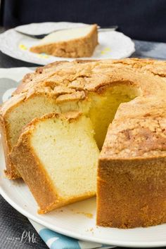 Million Dollar Pound Cake is a crowd-pleaser. It has a fine, rich, smooth texture with classic vanilla flavor.