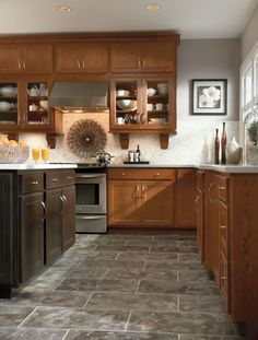 Best Cabinets Aristokraft Contractors Choice Newberry Saddle 400 x 300