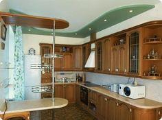 кухня классика верхние шкафы разноуровневые: 4 тыс изображений найдено в Яндекс.Картинках