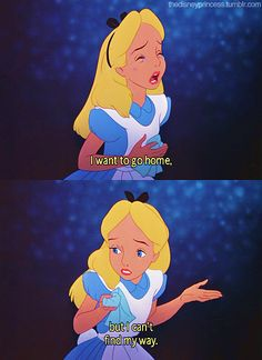 From Disney's Alice In Wonderland