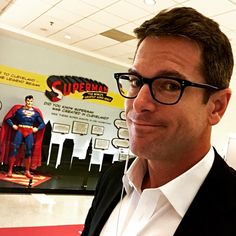 Who knew or maybe I forgot - but Superman was created in #cleveland by The Siegel & Shuster Studio.  The ability to fly would come in super handy right now to get to @msnbc #rnc2016 #cle set.