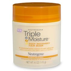 Neutrogena deep conditioner/// I have been using this since last week and can see a difference great product.