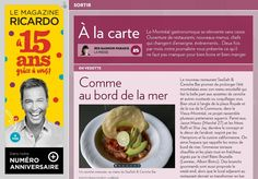 À la carte - La Presse+ Ceviche, Nouveau Menu, Restaurants, Breakfast, Food, Eating Well, Fine Dining, Cards, Diners
