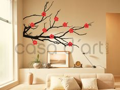 Blossom wall decal sticker