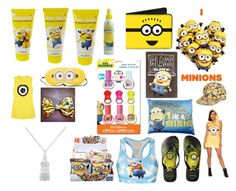 """I love minions"" by rabaudlisa on Polyvore featuring Havaianas and Mega Bloks"