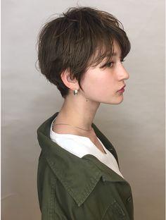 Asian Short Hair, Girl Short Hair, Short Hair Cuts, Asian Haircut Short, Asian Pixie Cut, Short Pixie, Hairstyles Haircuts, Pretty Hairstyles, Androgynous Haircut