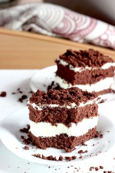 Happy Foods, Brownie Recipes, Tiramisu, Brownies, Food And Drink, Homemade, Ethnic Recipes, Cakes, Mudpie