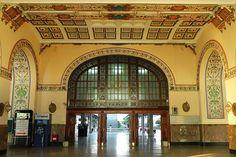 Haydarpaşa estacion de tren en Instambul mandada construir por eln Sultan Abdülaziz inagurada en 1872