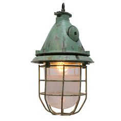 kizel largo light green | Lights | 360volt. The biggest collection vintage industrial lighting. Specialized in factory, enamel and industrial lamps. www.360volt.com