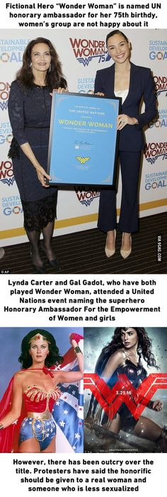 So fictional characters can be named as UN ambassador now, what do you think?