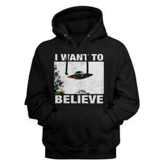 X files man's HoodIe. Jersey lined hood. Funny Shirt Sayings, Shirts With Sayings, Funny Shirts, Cool Hoodies, Cool Tees, Cool T Shirts, Horror Movie T Shirts, Movie Tees, 90s Throwback