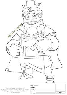 info file name blue king clash royale coloring pages 2 file type