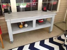 Taylors Console Table for the Patio | Do It Yourself Home Projects from Ana White