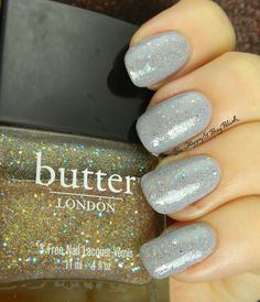 butter LONDON Tart with a Heart over Orly Boho Bonnet | Be Happy And Buy Polish http://behappyandbuypolish.com/2015/08/05/re-swatch-wednesday-orly-boho-bonnet-butter-london-tart-with-a-heart/