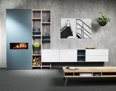 Moderne wandkast. Interstar meubelen is gespecialiseerd in maatwerk wandsystemen. Stel zelf uw Interstar kasten samen! U bent van harte welkom!