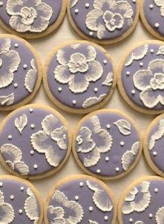 Cookies lavanda.