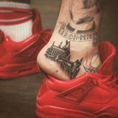 Hogwarts tattoo by kristiwallsnyc